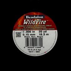 Fil WildFire Noir ø 0.15 mm
