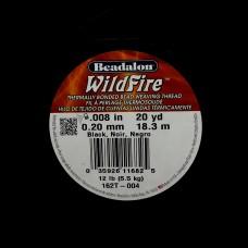 Fil WildFire Noir ø 0.2 mm