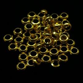 Anneau solide 3.5 mm doré