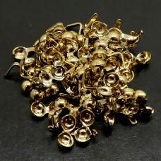 Cache Noeud 3 - Plaqué or avec crochet