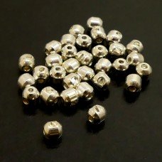 Perle à Visser Argent (3pces)
