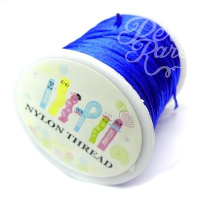 Cordon de nylon - Bleu (1 mètre)
