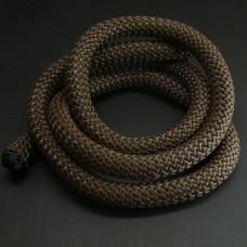 Cordon Tressé Brun 100 cm
