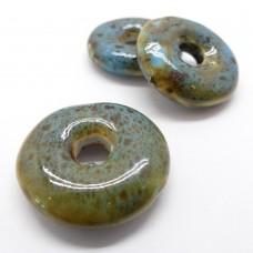 Donut de Ceramique Olive 27 mm (1 pce)