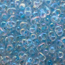 Berry Beads - Glacier Blue Lined Crystal AB