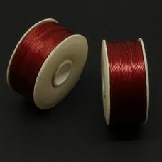 Fil Nymo - Rouge (1 bobine)