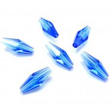 Bicone long - Sapphire