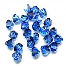 Bicone 4 - Sapphire Satin