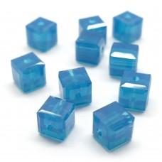 Cube 4 - Carribean Blue Opal