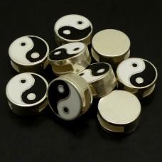 "Passant ""Yin & Yang"" noir-blanc (1 pce)"