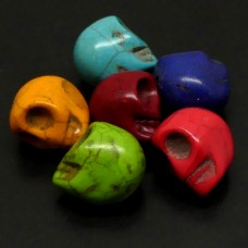 Crâne Acryl Mix  (6 pces)