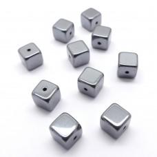 Cube 6x6 - Hematite