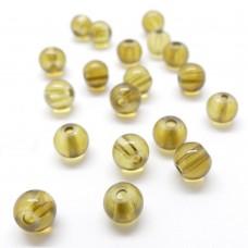 Perle de Verre 6 - Olive
