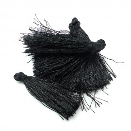 Breloque - Pompon Noir