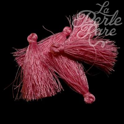 Breloque - Pompon Rose