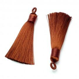 Breloque - Pompon Coconutbrown