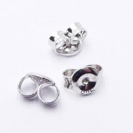 Noix d'oreille - Argent Sterling 925 - 6.5 X 6 X 3 mm