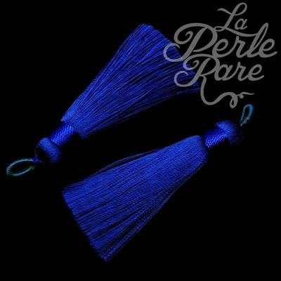 Breloque - Pompon Bleu