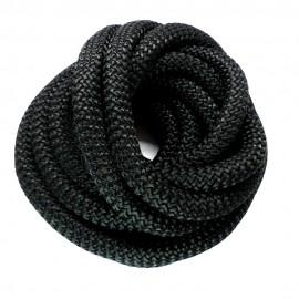 Cordon Tressé Noir 94 cm