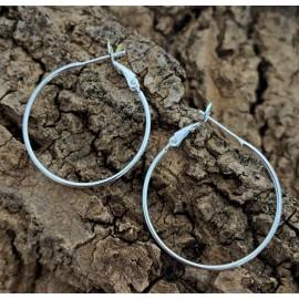 Boucles d'oreille créole (paire)