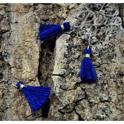 Mini Pompon Bleu Roi (1 pce)