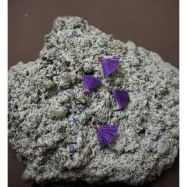 Mini pompon Violet (1 pce)