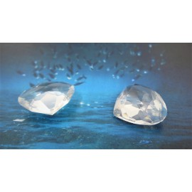 Poire 20 x 18 mm - Crystal