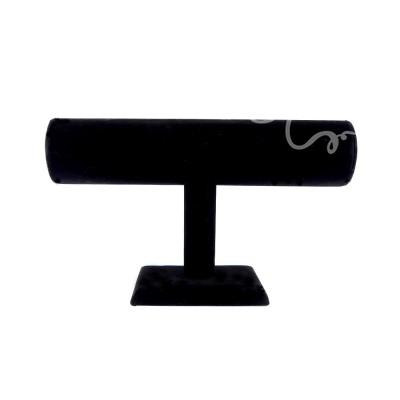 Barre d'exposition pour bracelets noir