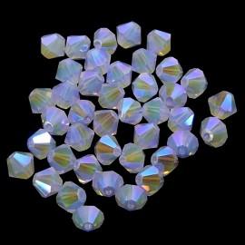 PROMO: Bicone 4 - Violet Opal AB2x (50 pces)