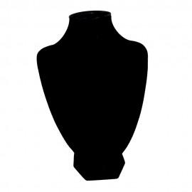 Buste pour collier noir