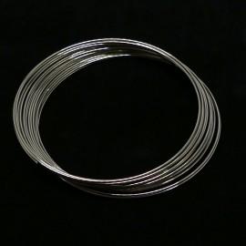 Fil Memory Bracelet rond 0.5 mm 7.1 g